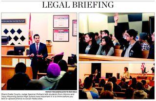 Legal briefing 2014