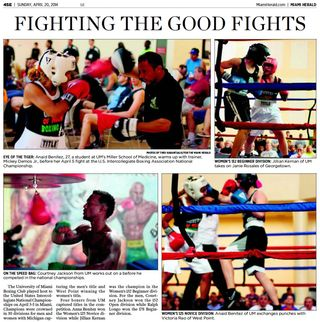 Fighting the good fights 2014